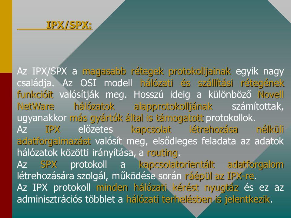IPX/SPX: