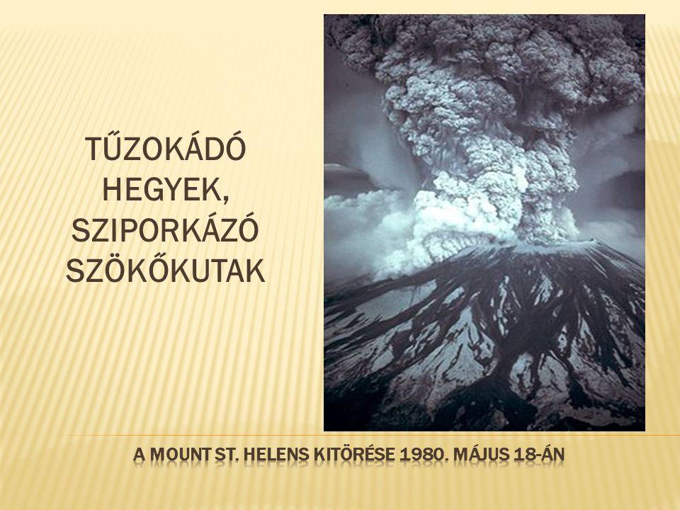 A Mount St. Helens kitörése 1980. május 18-án