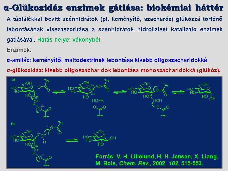α-Glükozidáz enzimek gátlása: biokémiai háttér