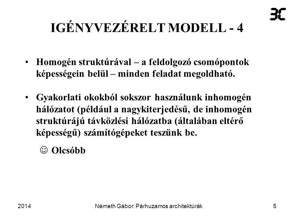 IGÉNYVEZÉRELT MODELL - 4
