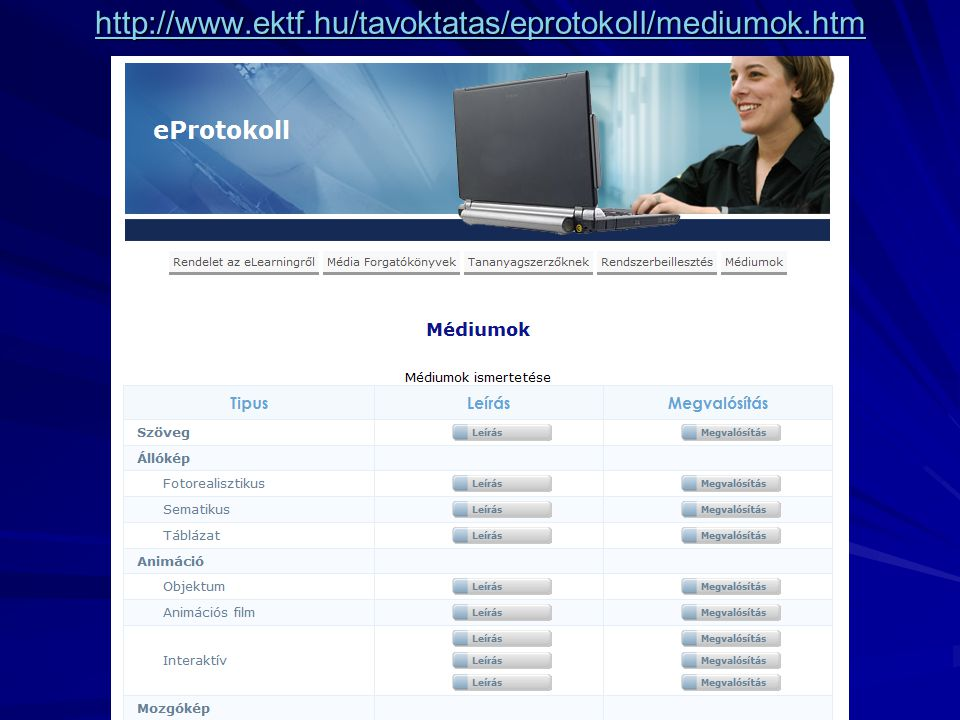 http://www.ektf.hu/tavoktatas/eprotokoll/mediumok.htm