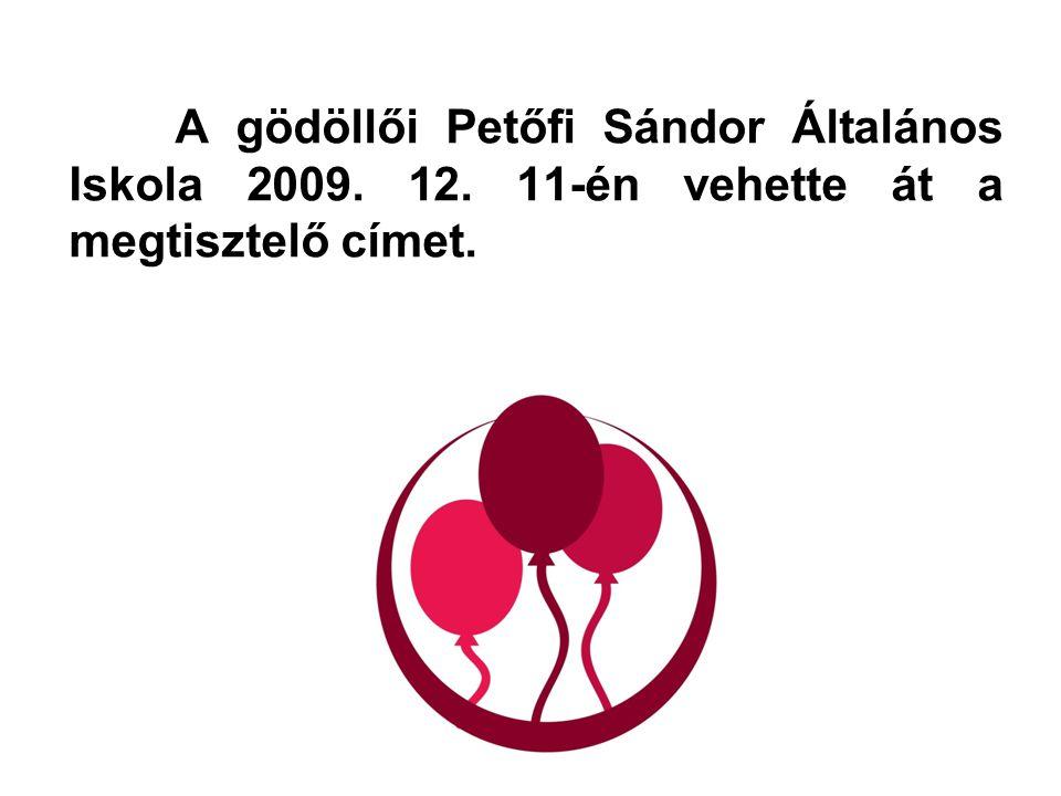 A gödöllői Petőfi Sándor Általános Iskola 2009. 12