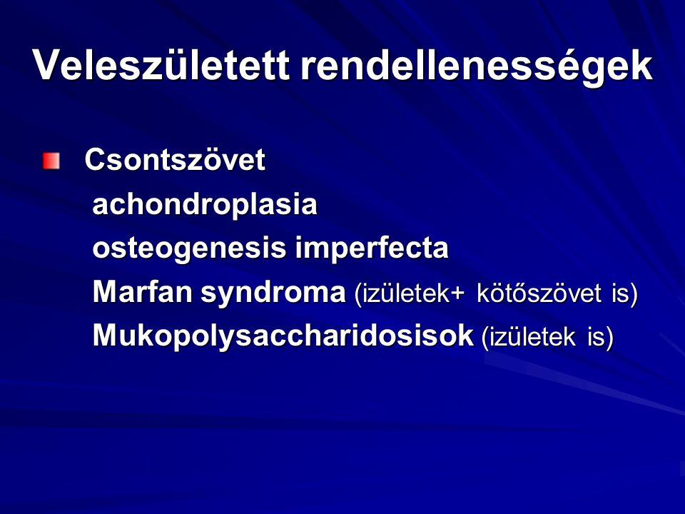 Veleszületett rendellenességek