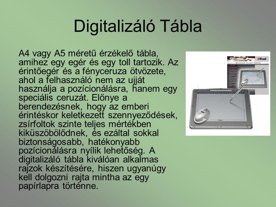 Digitalizáló Tábla