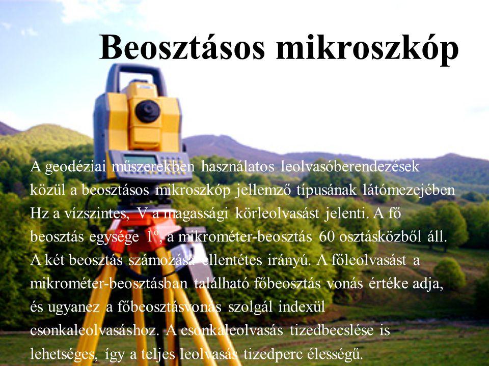 Beosztásos mikroszkóp