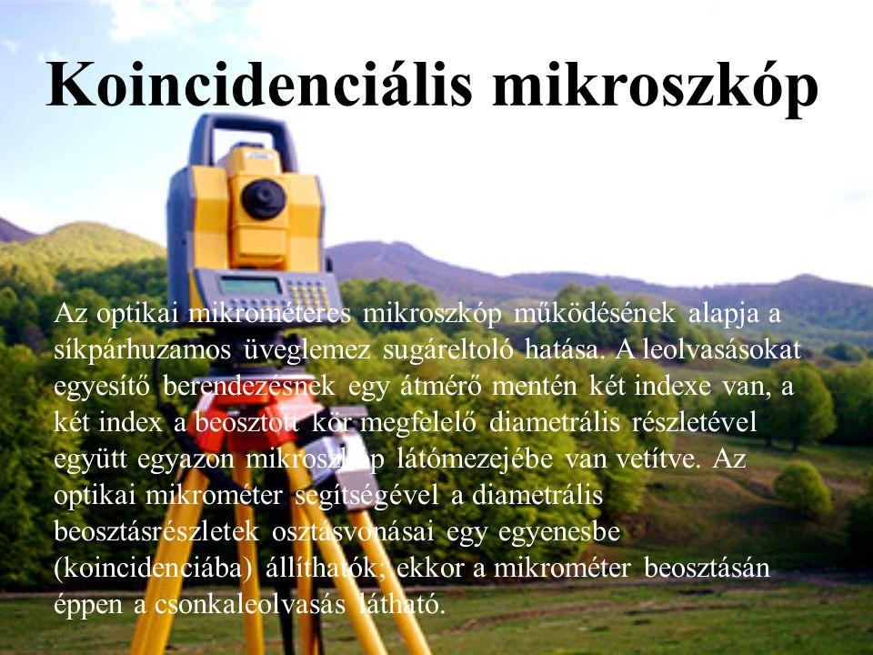 Koincidenciális mikroszkóp