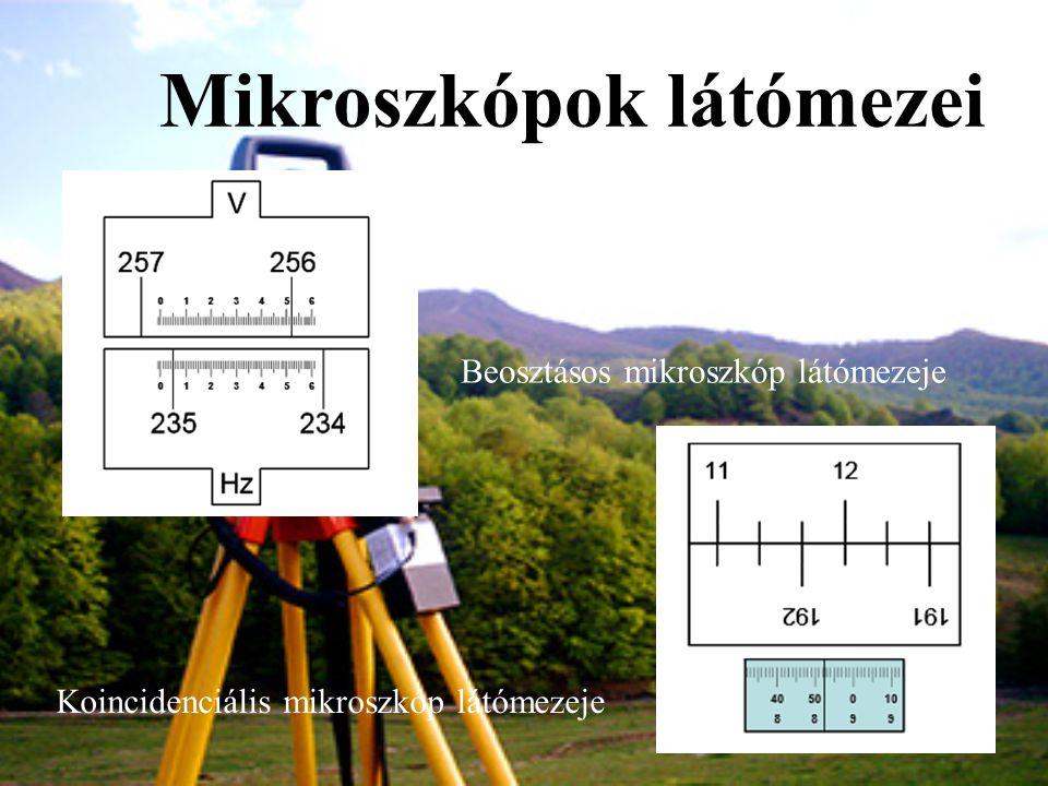 Mikroszkópok látómezei