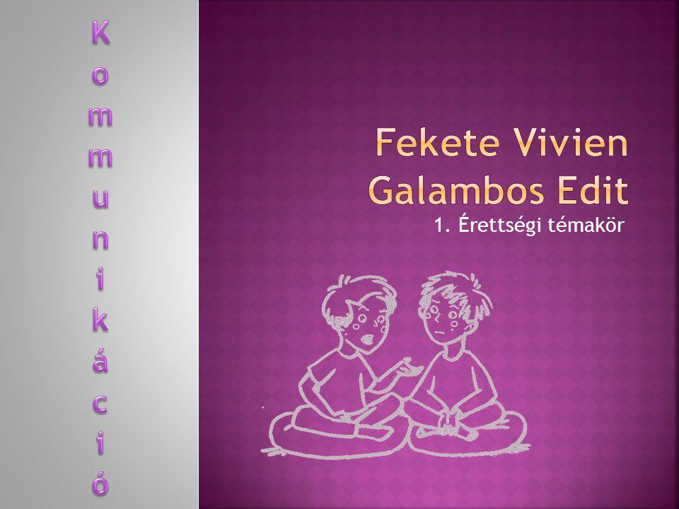 Fekete Vivien Galambos Edit