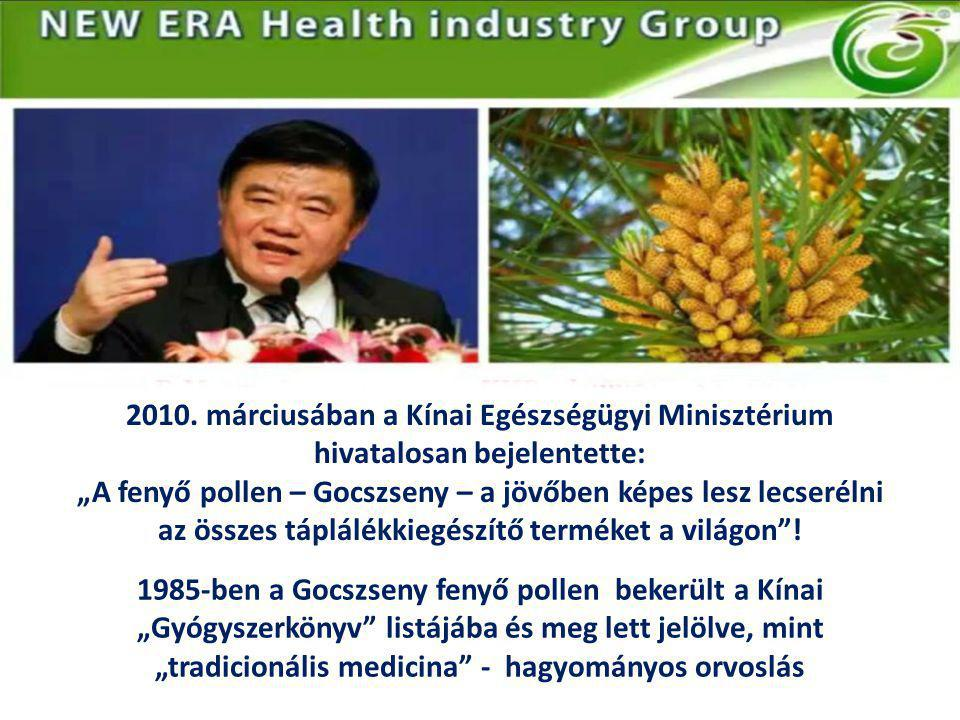 2010. márciusában a Kínai Egészségügyi Minisztérium