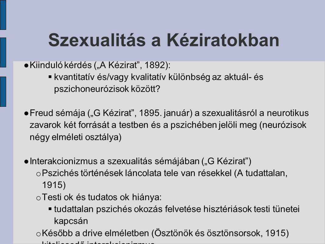 Szexualitás a Kéziratokban