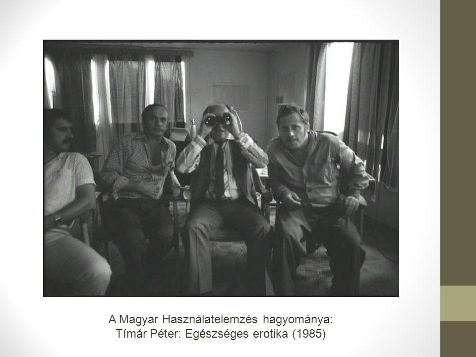 A Magyar Használatelemzés hagyománya: