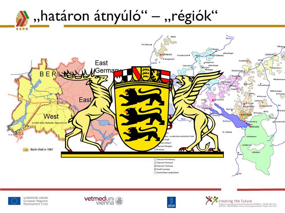 """""""határon átnyúló – """"régiók"""