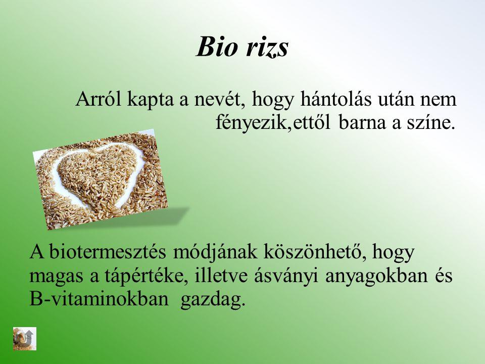 Bio rizs