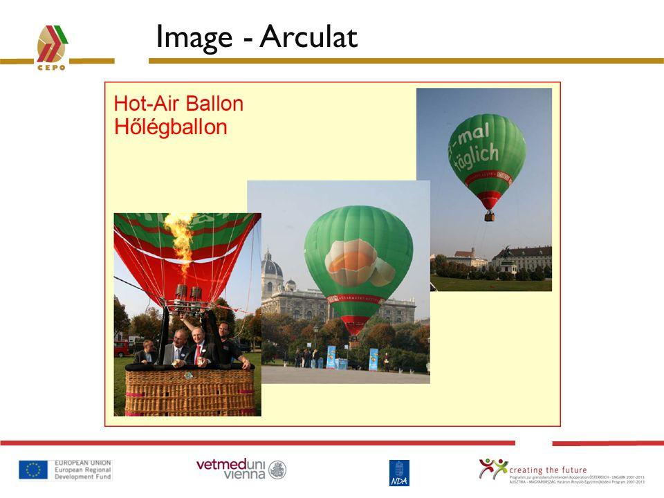 Image - Arculat Hőlégballon