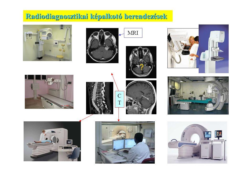 Radiodiagnosztikai képalkotó berendezések