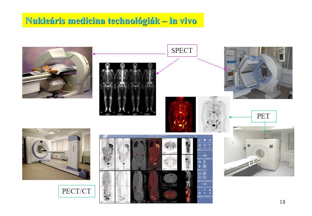 Nukleáris medicina technológiák – in vivo