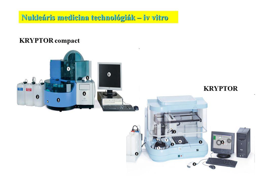 Nukleáris medicina technológiák – iv vitro