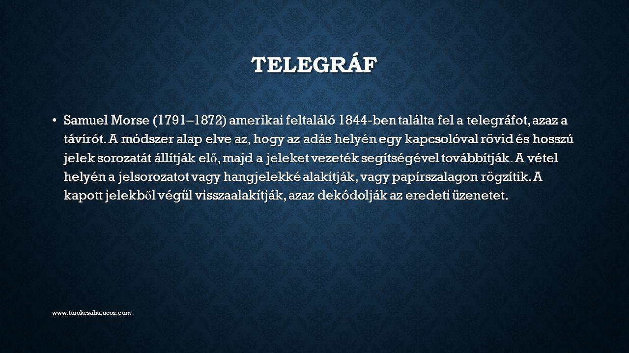 Telegráf