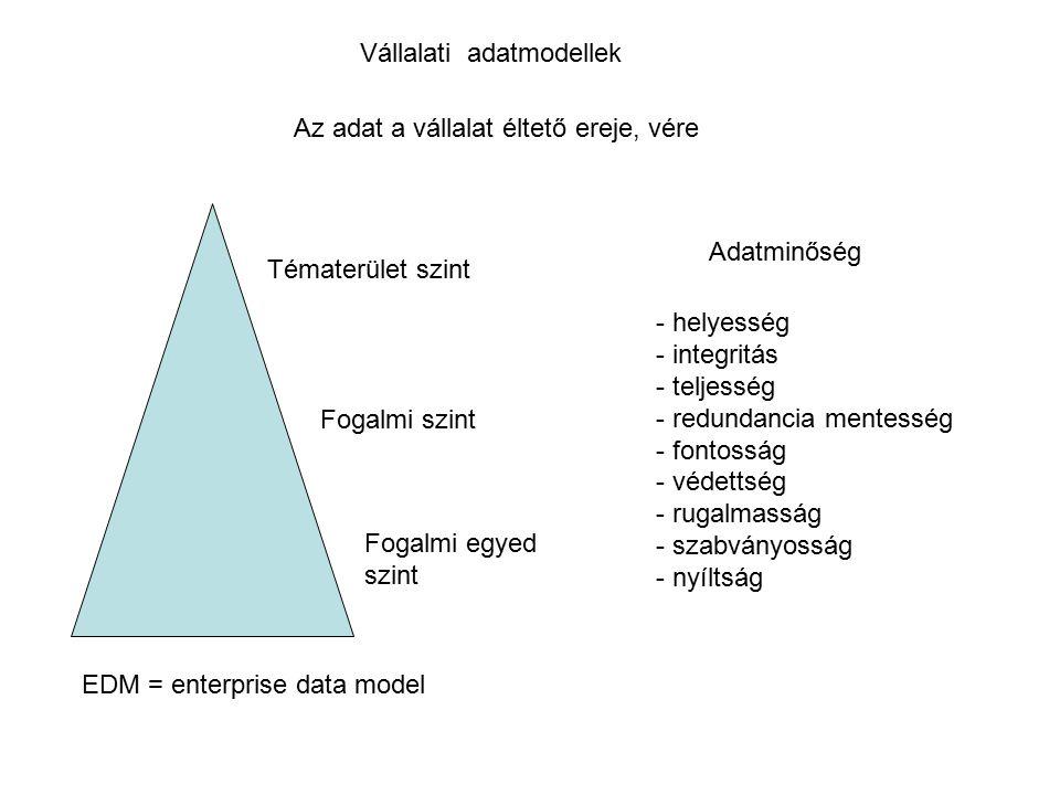 Vállalati adatmodellek