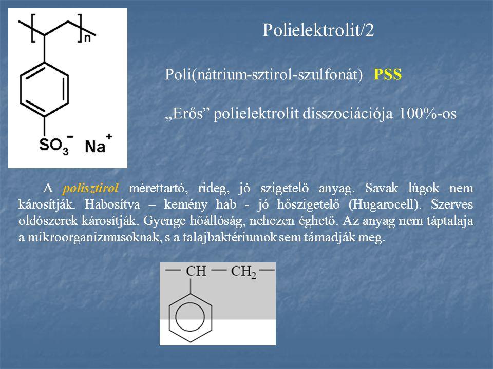 Polielektrolit/2 Poli(nátrium-sztirol-szulfonát) PSS