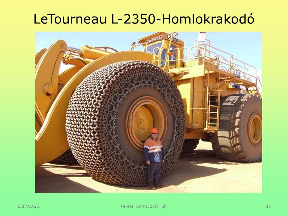 LeTourneau L-2350-Homlokrakodó