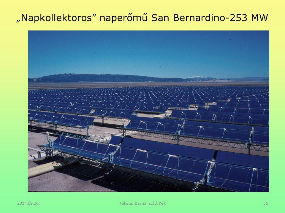 """Napkollektoros naperőmű San Bernardino-253 MW"