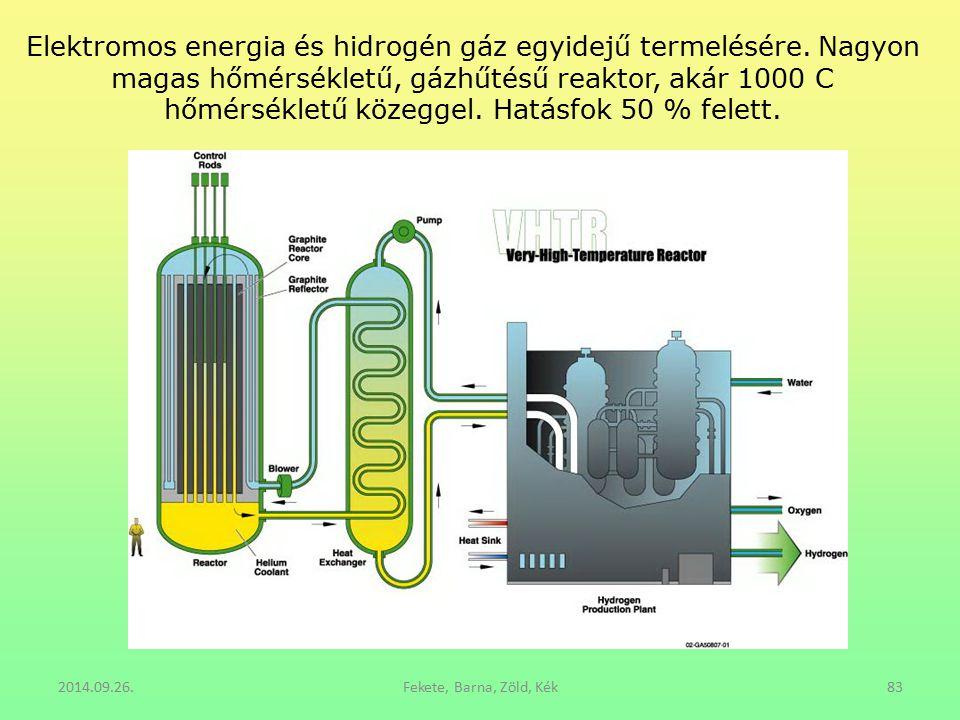 Elektromos energia és hidrogén gáz egyidejű termelésére