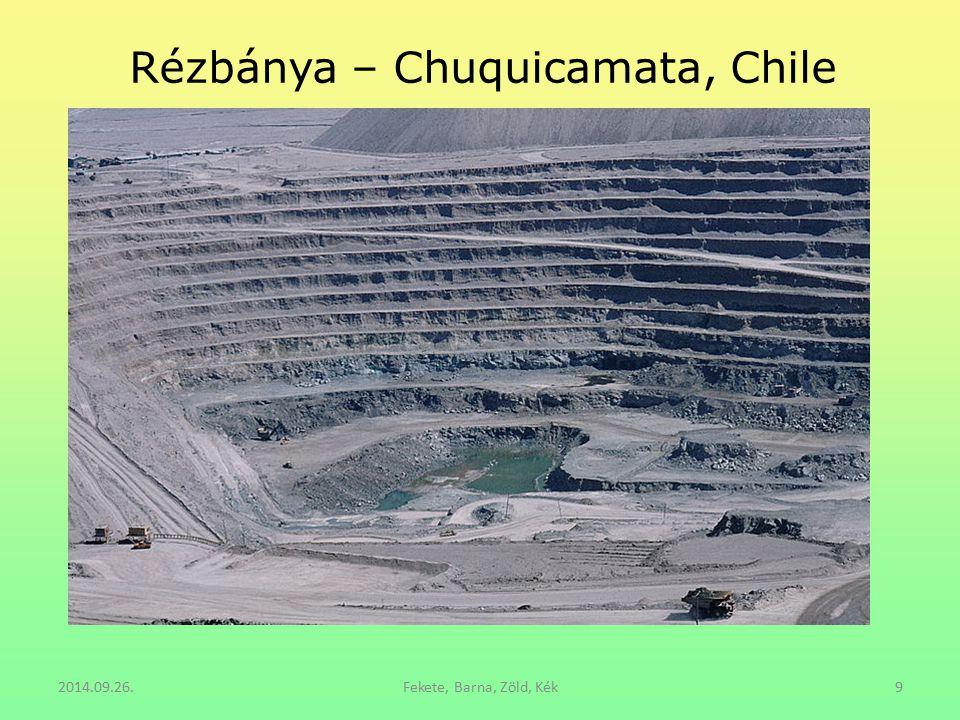 Rézbánya – Chuquicamata, Chile