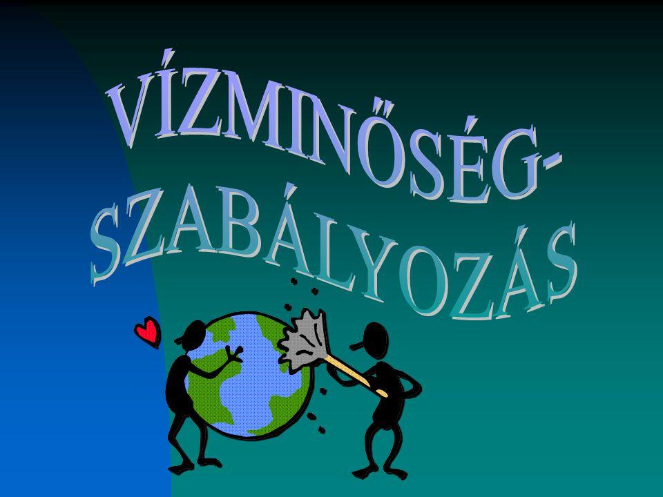 VÍZMINŐSÉG- SZABÁLYOZÁS