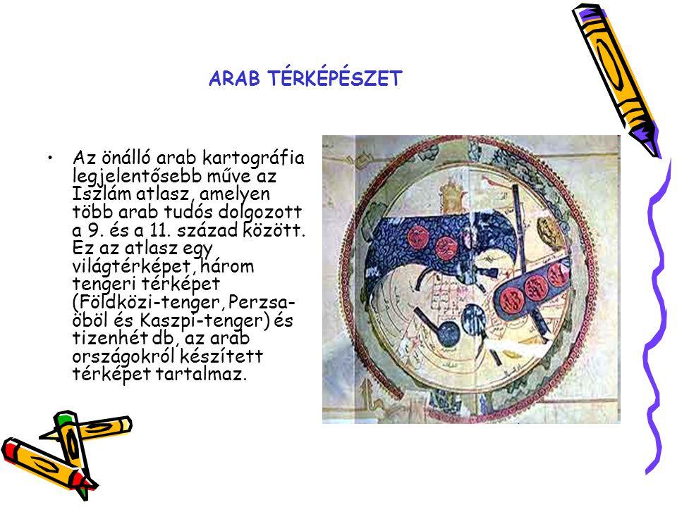 ARAB TÉRKÉPÉSZET