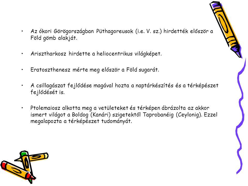 Az ókori Görögországban Püthagoreusok (i. e. V. sz