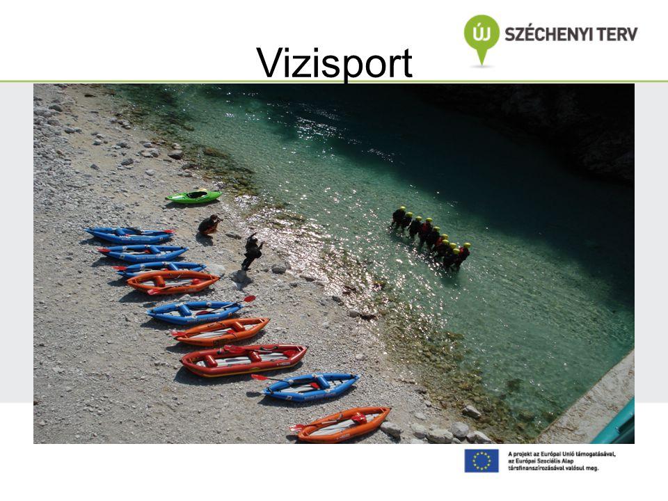 Vizisport Szlovénia. Horváth Kinga felvétele