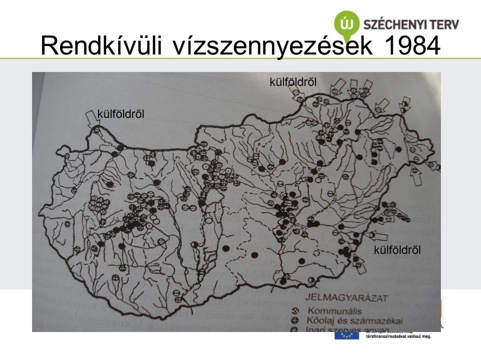 Rendkívüli vízszennyezések 1984