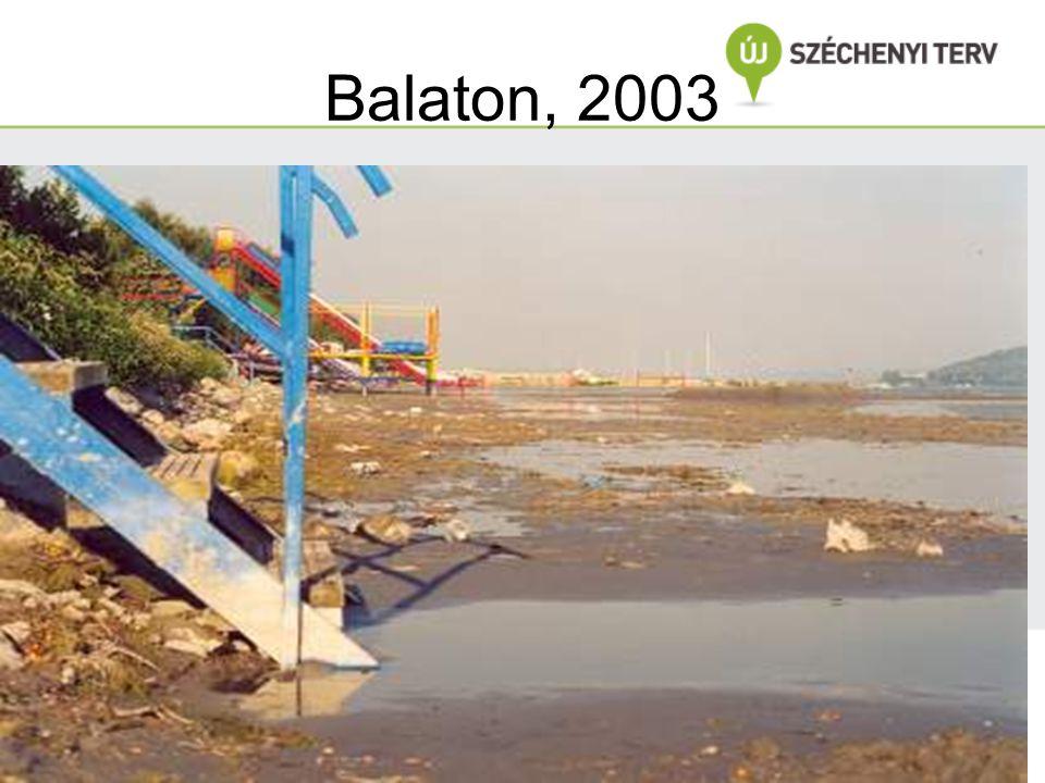 Balaton, 2003 Dr. Clement Vízkészletek, vízminőség, vízszennyezés