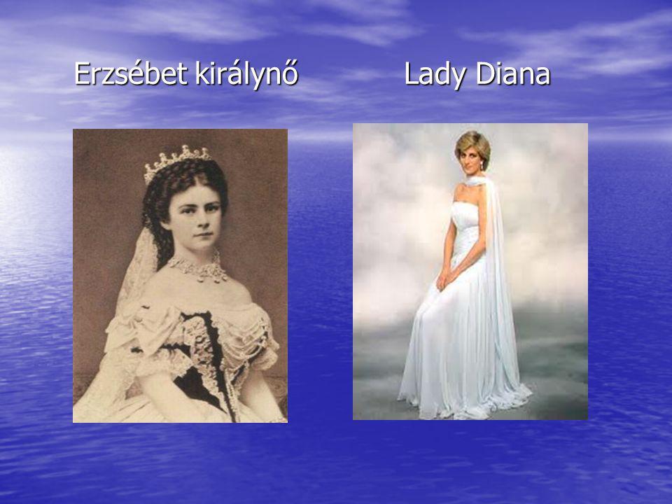 Erzsébet királynő Lady Diana