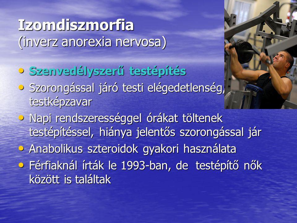 Izomdiszmorfia (inverz anorexia nervosa)