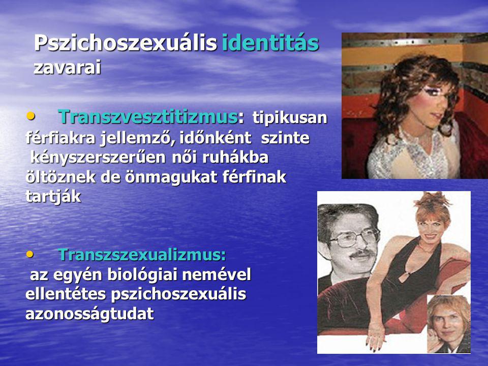 Pszichoszexuális identitás zavarai