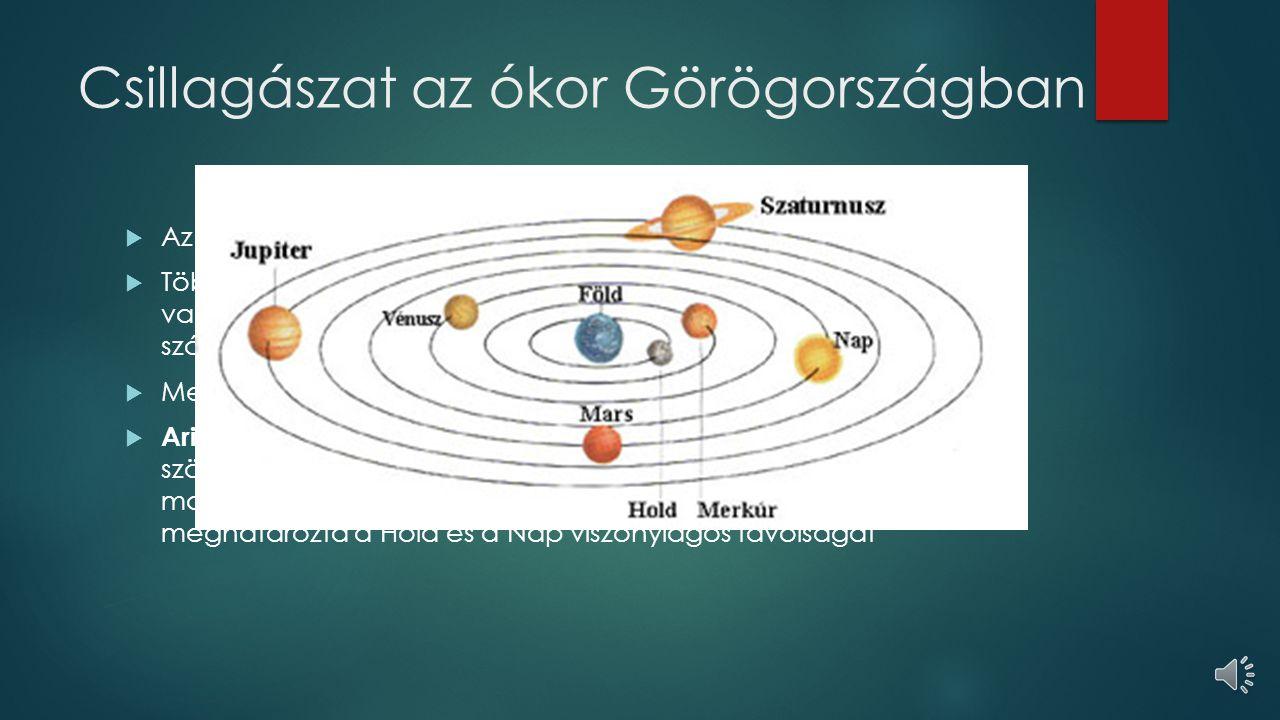 Csillagászat az ókor Görögországban