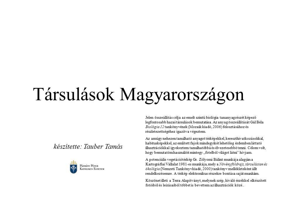 Társulások Magyarországon