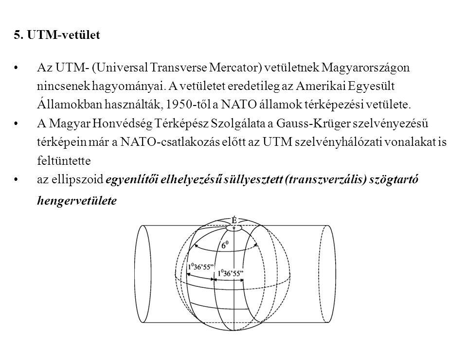 5. UTM-vetület