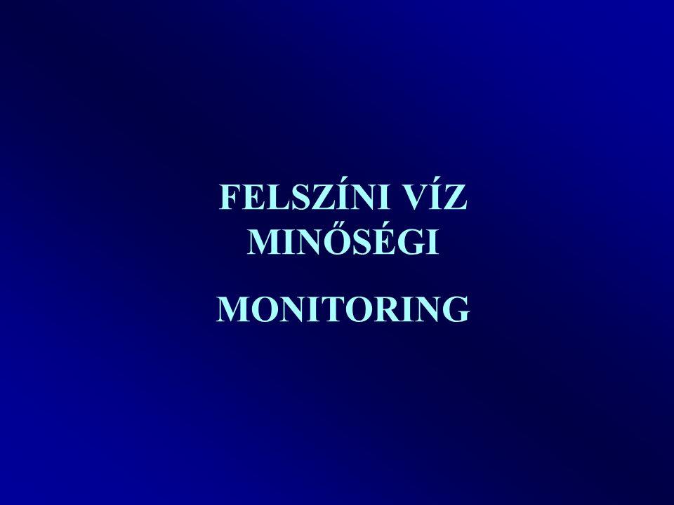 FELSZÍNI VÍZ MINŐSÉGI MONITORING