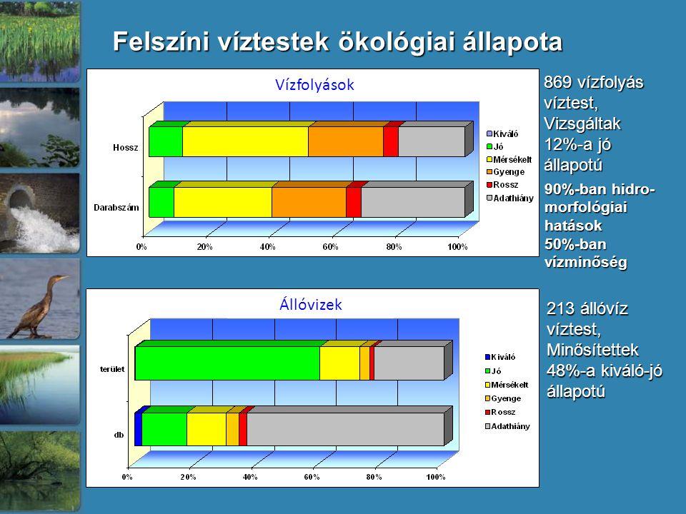 Felszíni víztestek ökológiai állapota