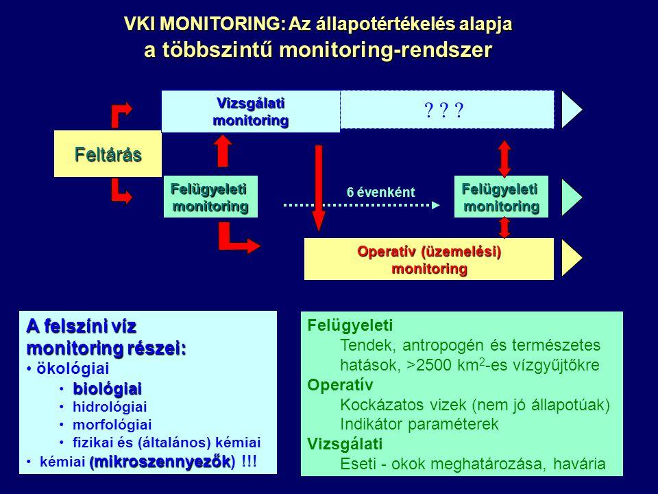 a többszintű monitoring-rendszer