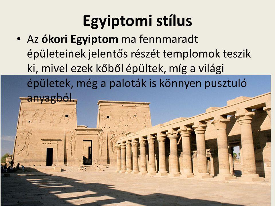 Egyiptomi stílus