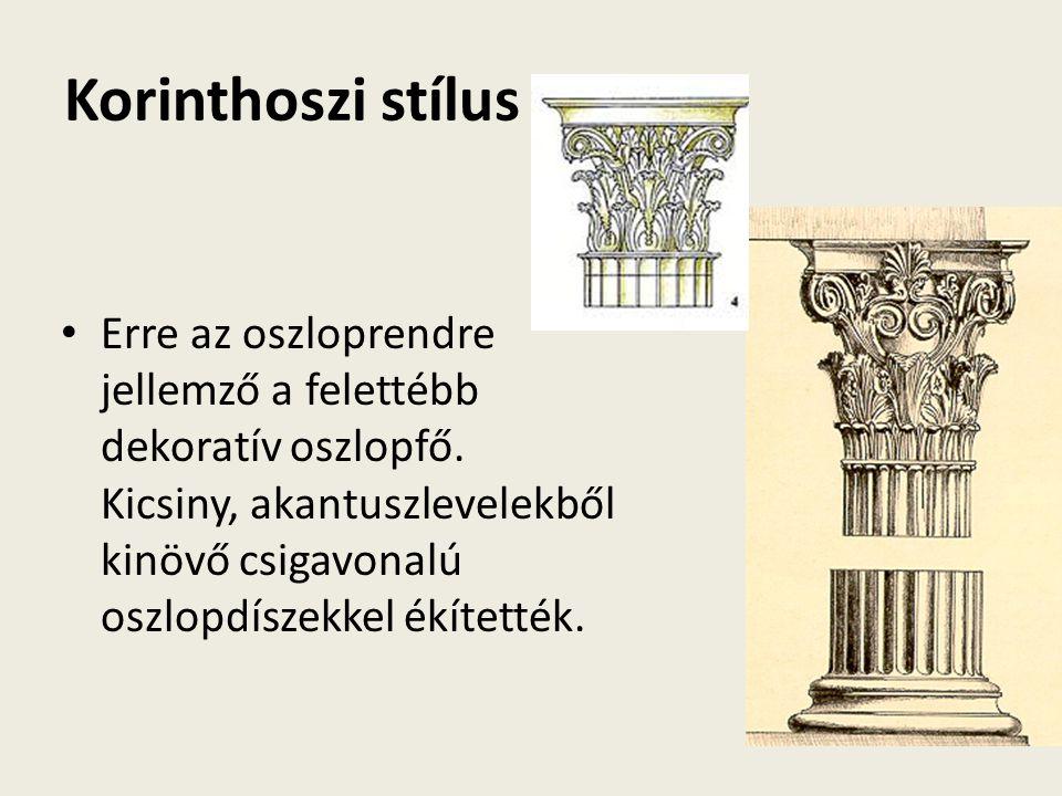 Korinthoszi stílus
