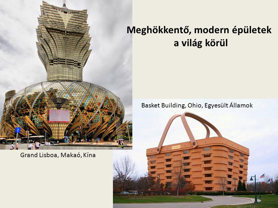 Meghökkentő, modern épületek a világ körül