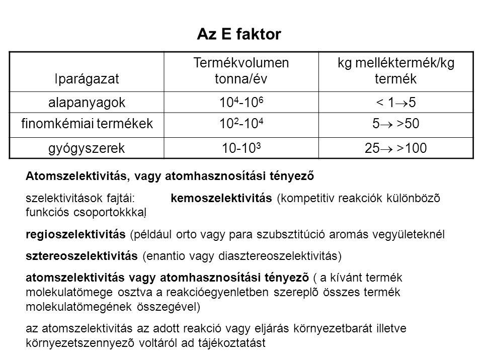kg melléktermék/kg termék