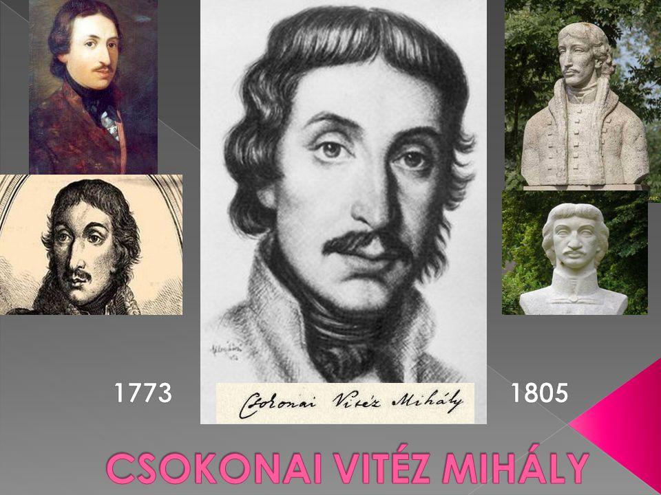 CSOKONAI VITÉZ MIHÁLY 1773 1805