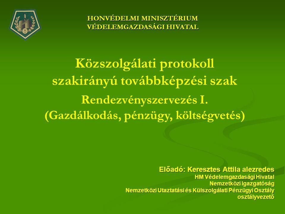 Közszolgálati protokoll szakirányú továbbképzési szak