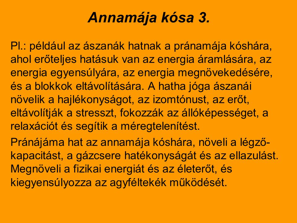 Annamája kósa 3.